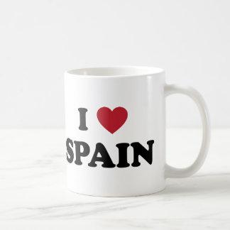 Amo España Taza Básica Blanca