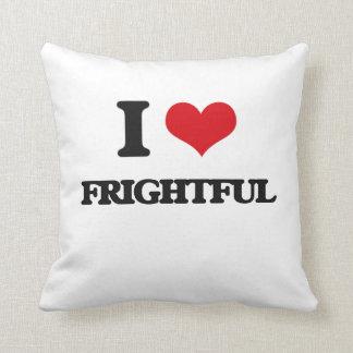 Amo espantoso almohada