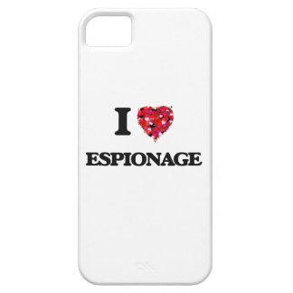 Amo ESPIONAJE iPhone 5 Funda