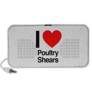 amo esquileos de las aves de corral iPod altavoz