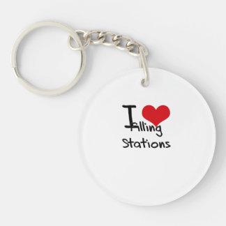 Amo estaciones de servicio llavero