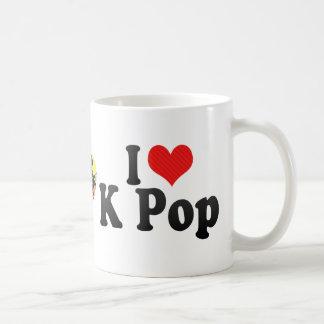 Amo estallido de K Taza De Café