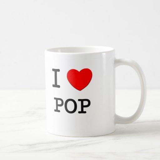 Amo estallido tazas de café