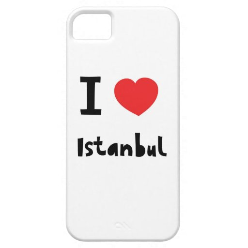 Amo Estambul Funda Para iPhone SE/5/5s