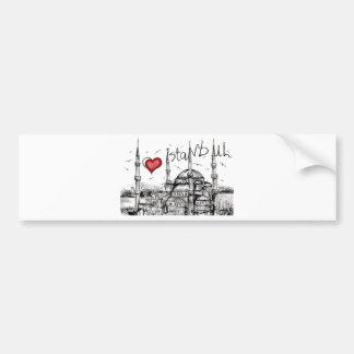 Amo Estambul Pegatina Para Auto