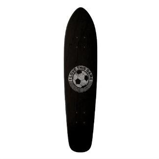 Amo este juego - grunge del fútbol/del fútbol patinetas personalizadas