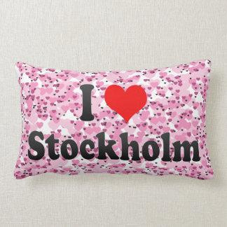 Amo Estocolmo Suecia Almohada
