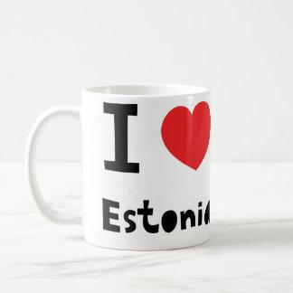 Amo Estonia Taza De Café