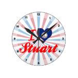 Amo Estuardo, Virginia Relojes De Pared