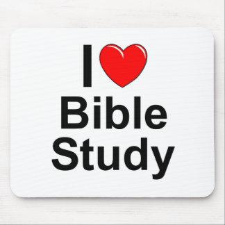 Amo estudio de la biblia (del corazón) mousepad