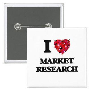Amo estudio de mercados pin cuadrada 5 cm