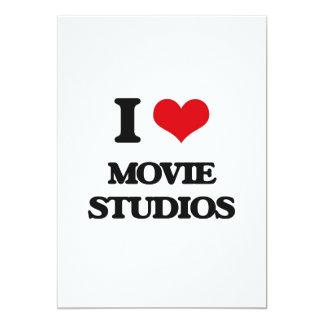 """Amo estudios de la película invitación 5"""" x 7"""""""