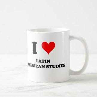Amo estudios latinoamericanos taza