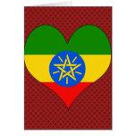Amo Etiopía Tarjeton