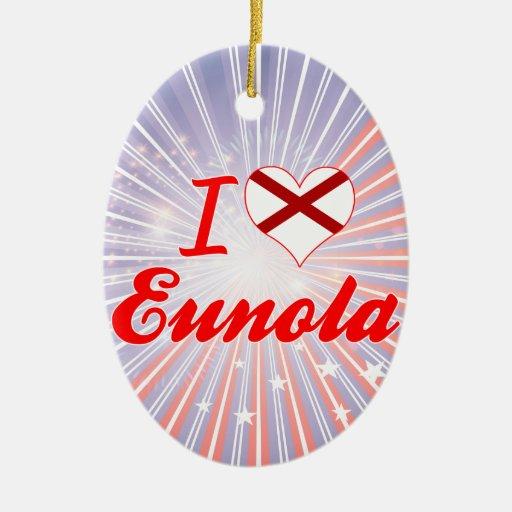 Amo Eunola, Alabama Adorno Para Reyes