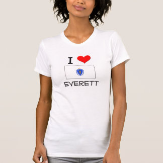Amo Everett Massachusetts Camiseta