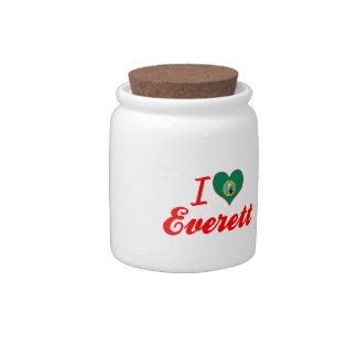Amo Everett, Washington Plato Para Caramelo