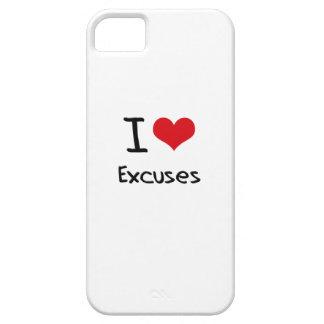 Amo excusas iPhone 5 cobertura