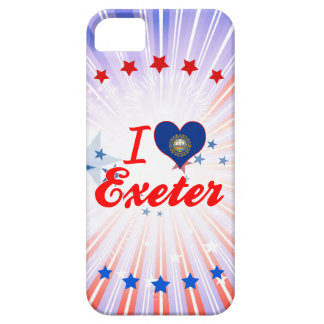 Amo Exeter, New Hampshire Funda Para iPhone 5 Barely There