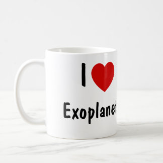 Amo Exoplanets Taza Básica Blanca