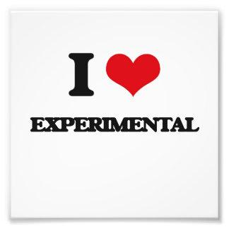 Amo experimental cojinete