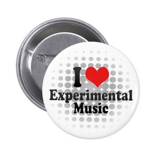 Amo experimental+Música Pins