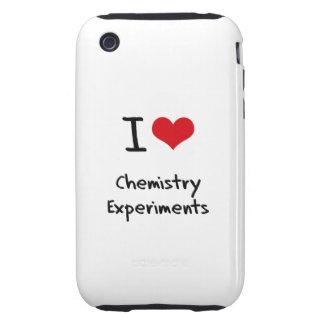 Amo experimentos de la química tough iPhone 3 cobertura