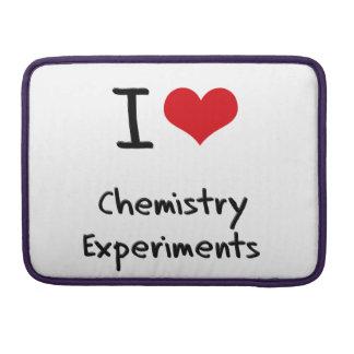 Amo experimentos de la química funda para macbook pro