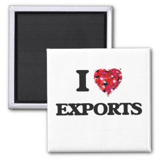Amo exportaciones imán cuadrado