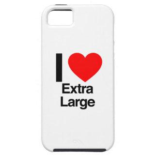amo extra grande iPhone 5 carcasa