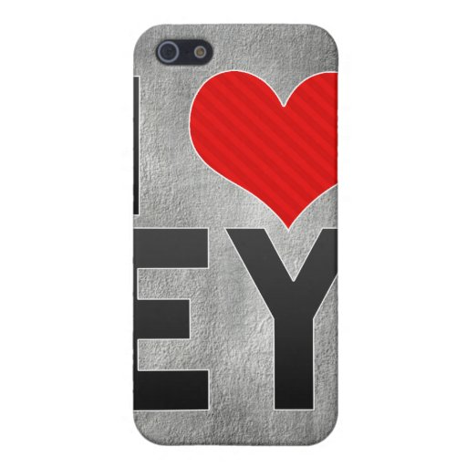 Amo EY iPhone 5 Protectores