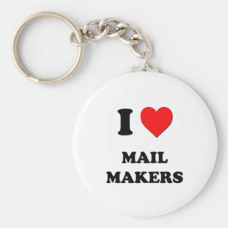Amo fabricantes del correo llavero personalizado