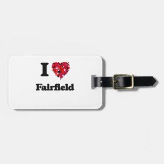 Amo Fairfield California Etiquetas Para Maletas