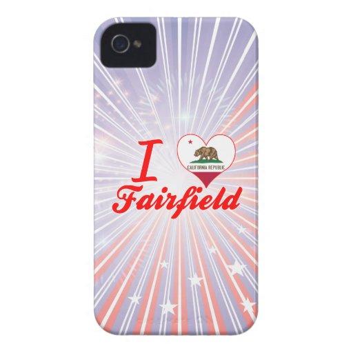Amo Fairfield, California Case-Mate iPhone 4 Protectores