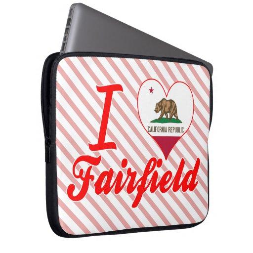 Amo Fairfield, California Fundas Portátiles