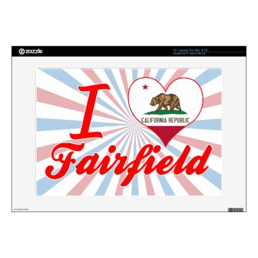 Amo Fairfield, California 38,1cm Portátil Calcomanías
