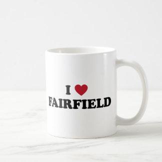 Amo Fairfield California Taza Básica Blanca