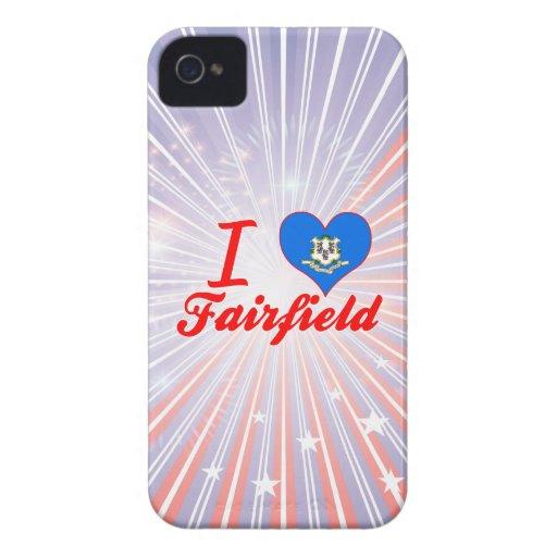 Amo Fairfield, Connecticut Case-Mate iPhone 4 Coberturas