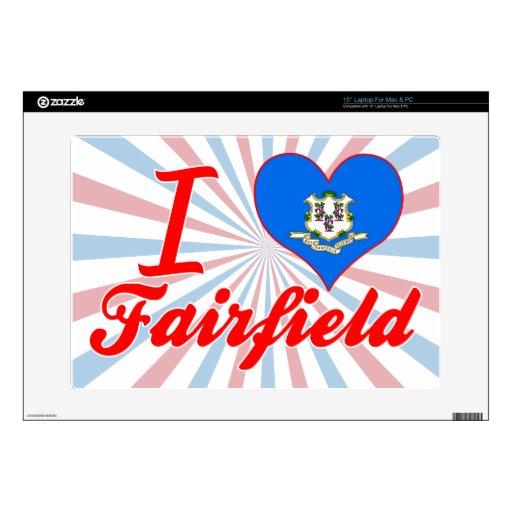 Amo Fairfield, Connecticut Skins Para 38,1cm Portátil