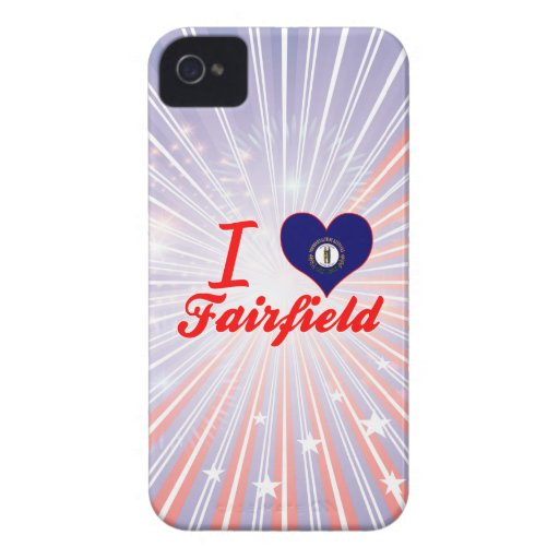 Amo Fairfield, Kentucky Case-Mate iPhone 4 Fundas