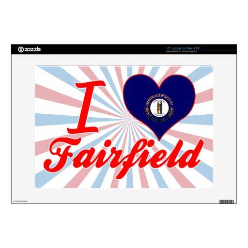 Amo Fairfield, Kentucky 38,1cm Portátil Calcomanía