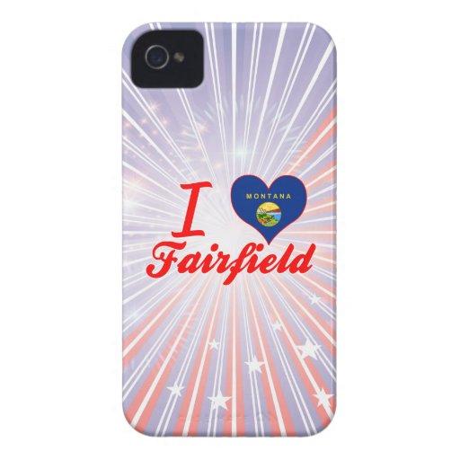 Amo Fairfield, Montana Case-Mate iPhone 4 Cárcasa