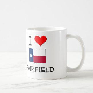 Amo Fairfield Tejas Tazas De Café