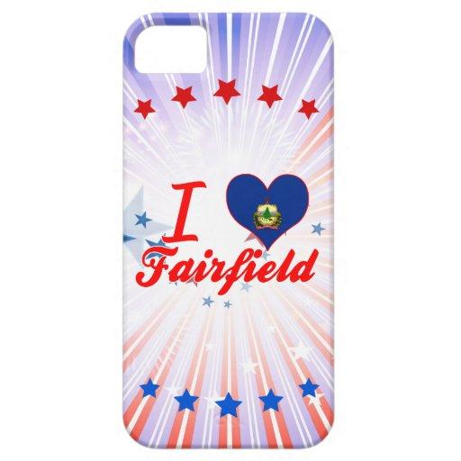 Amo Fairfield, Vermonta iPhone 5 Case-Mate Carcasa
