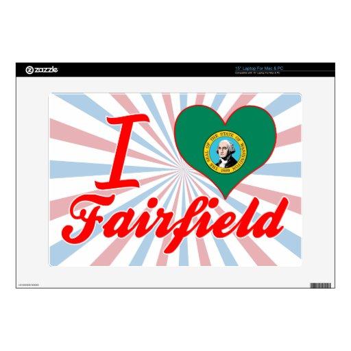 Amo Fairfield, Washington 38,1cm Portátil Calcomanía