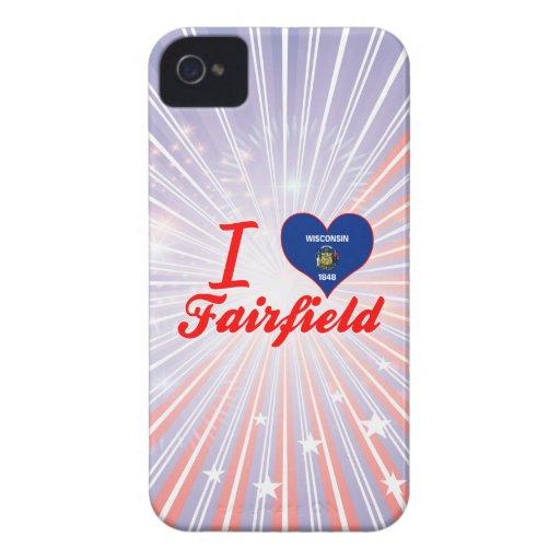 Amo Fairfield, Wisconsin Case-Mate iPhone 4 Cárcasa