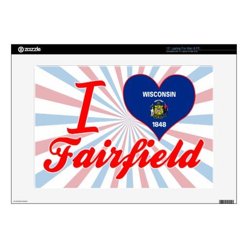 Amo Fairfield, Wisconsin Skins Para Portátil
