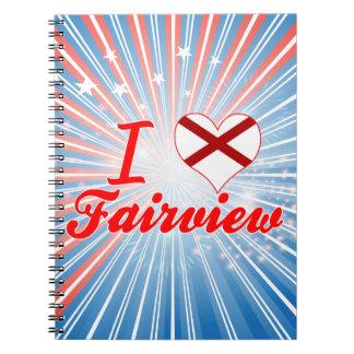 Amo Fairview Alabama Cuadernos