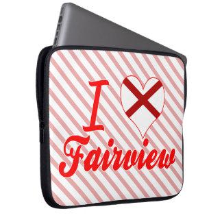 Amo Fairview Alabama Fundas Computadoras