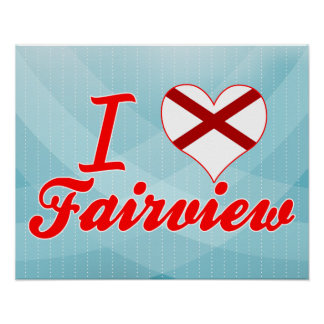 Amo Fairview Alabama Impresiones